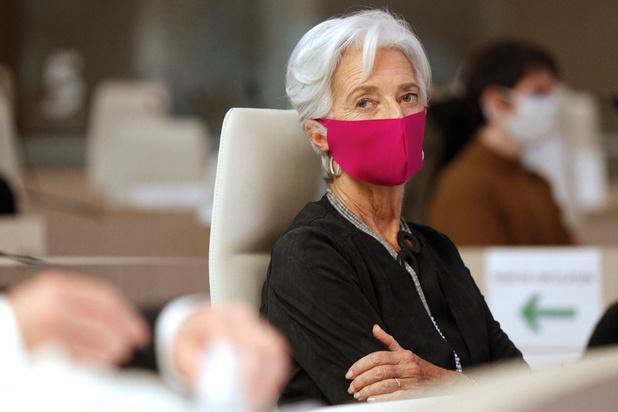 BCE: première bougie sous le signe de la pandémie pour Christine Lagarde