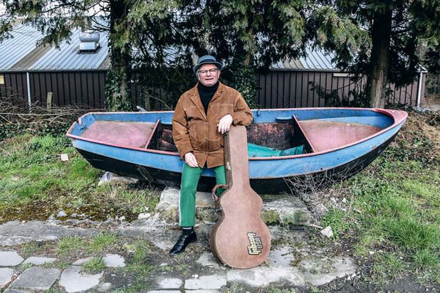 Le bluesman gantois Little Jimmy, alias Don Croissant, est mort