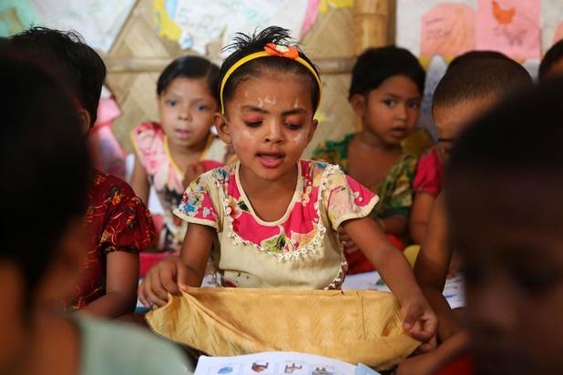 Amnesty vreest voor verloren generatie Rohingya-kinderen