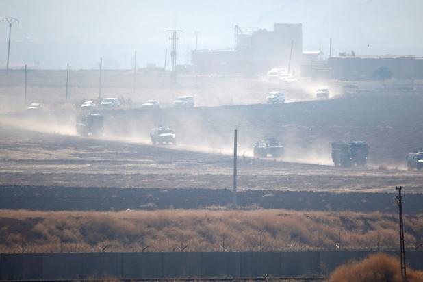 Rusland en Turkije beginnen patrouilles in Noord-Syrië