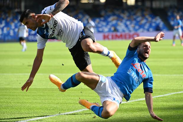 Large succès de Naples et Dries Mertens contre l'Atalanta