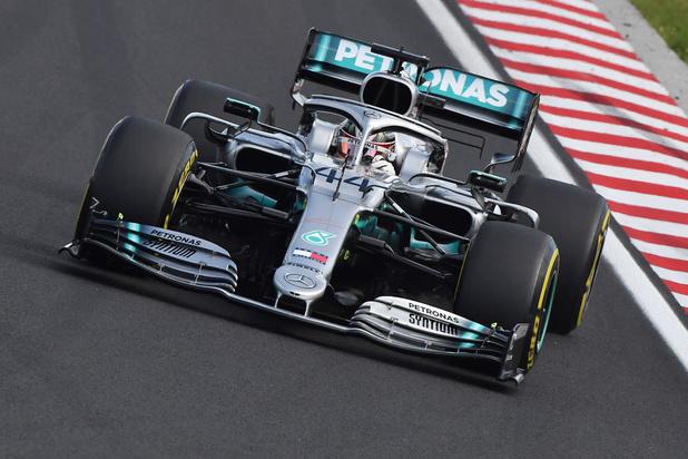 GP van Hongarije: Lewis Hamilton verslaat Max Verstappen