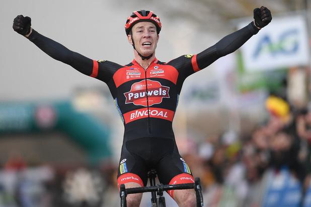 Laurens Sweeck is Belgisch kampioen veldrijden