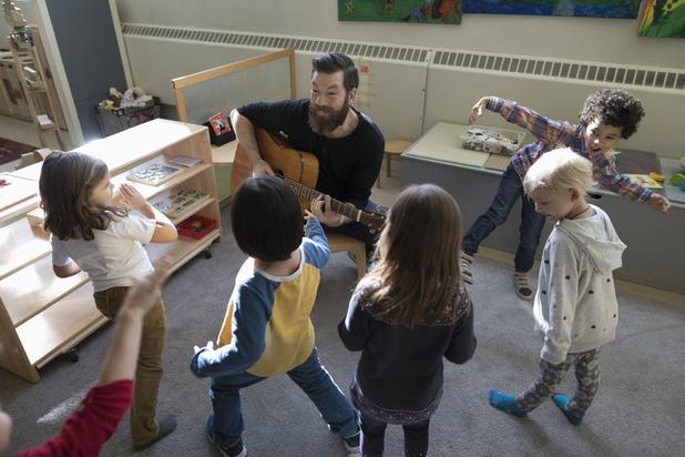 'In ons onderwijs komt muziek helaas bijna niet meer aan bod'