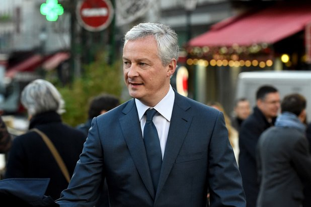 """Le Maire souhaite que l'Eurogroupe mette """"sur la table"""" une riposte budgétaire au coronavirus"""