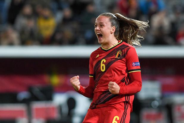 Tine De Caigny a brillé en marquant cinq buts contre la Lituanie