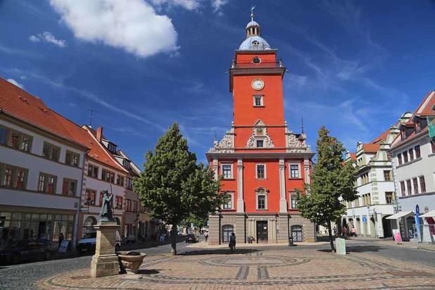 Gotha, la ville de la Maison de Saxe-Cobourg, en plein coeur de Thuringe