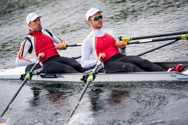Van Zandweghe en Brys azen op olympische roeilimiet