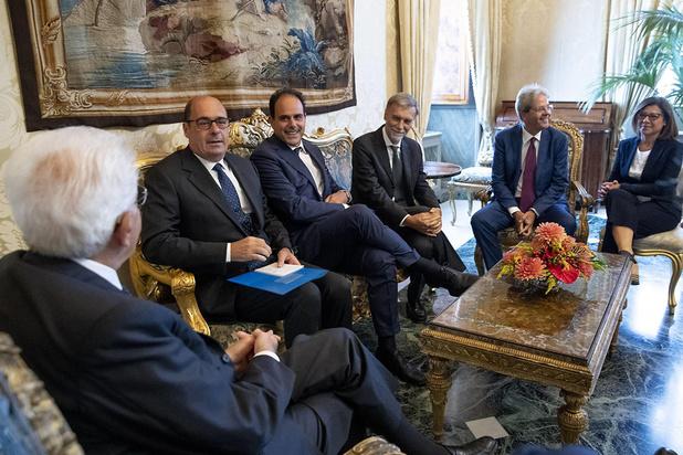 Deuxième round de consultations pour sortir de la crise politique en Italie