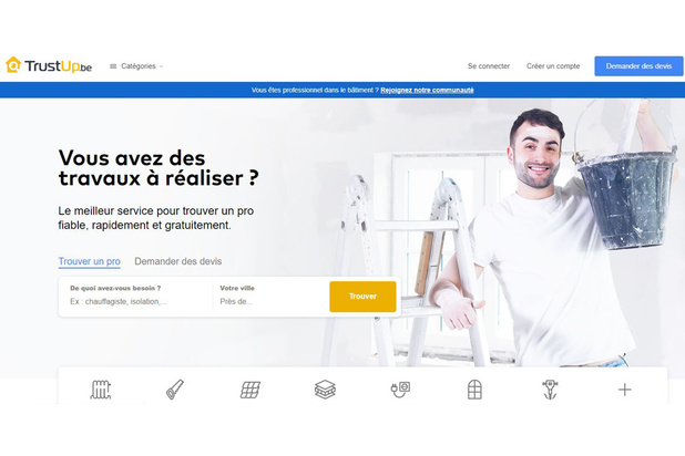 La start-up belge TrustUp.be lève 850.000 euros pour accélérer sa croissance