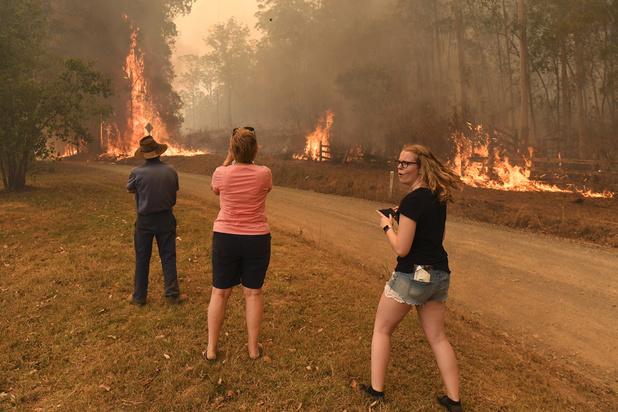 L'état d'alerte déclaré à Canberra sous la menace des feux de forêt