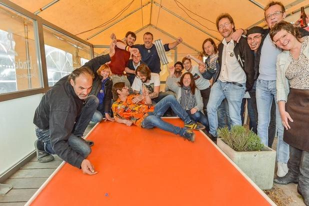 Veel fun tijdens Belgisch kampioenschap kuiltjesknikkeren in Wervik