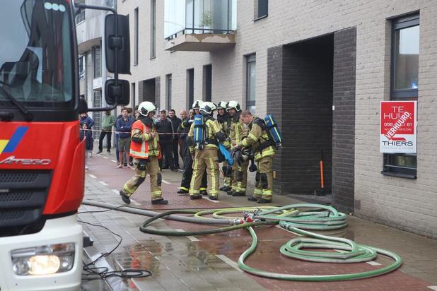 Flatgebouw ontruimd na keukenbrand in Kortrijk