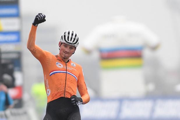 Mathieu van der Poel remporte son 4e titre de champion du monde