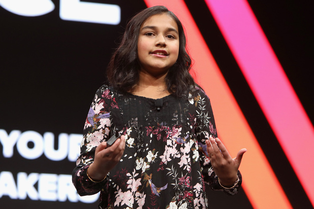 """Gitanjali Rao, 15 ans, désignée """"Enfant de l'année"""" par le Time, une première"""