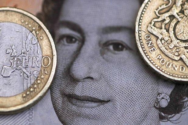 Britse pond op laagste peil tegenover euro in bijna tien jaar