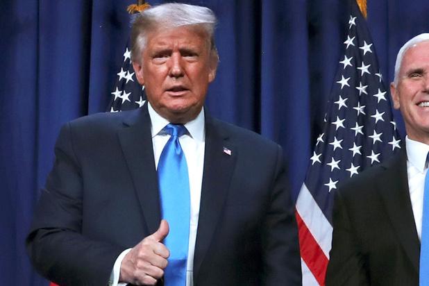 Adoubé par les républicains, Trump accuse les démocrates de fraude