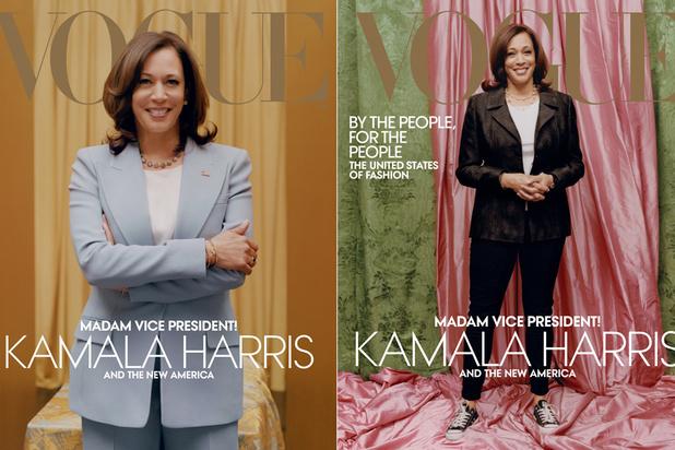 Suite à la polémique, Vogue sort une nouvelle version de son numéro sur Kamala Harris