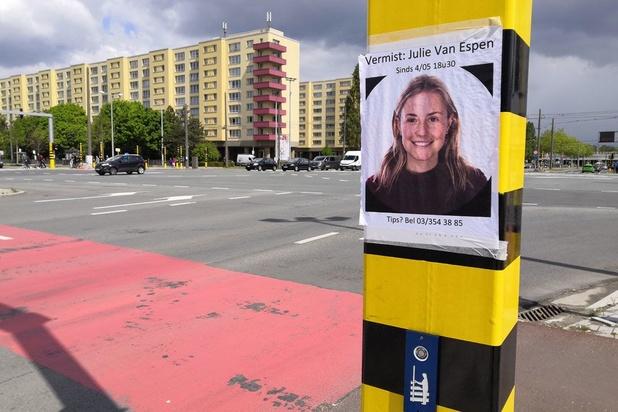 Verdachte moord Julie Van Espen legt bekentenissen af