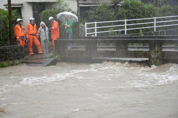 Plus d'un million d'habitants appelés à évacuer leur domicile, en raison de pluies torrentielles au Japon