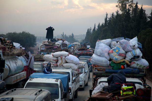 Syrie: plus de 235.000 déplacés du fait des récents combats dans le nord-ouest