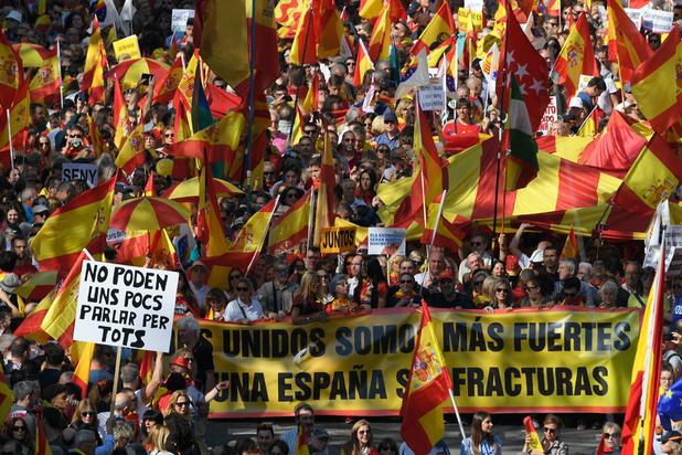 Catalogne: le soutien à l'indépendance a diminué dans la région