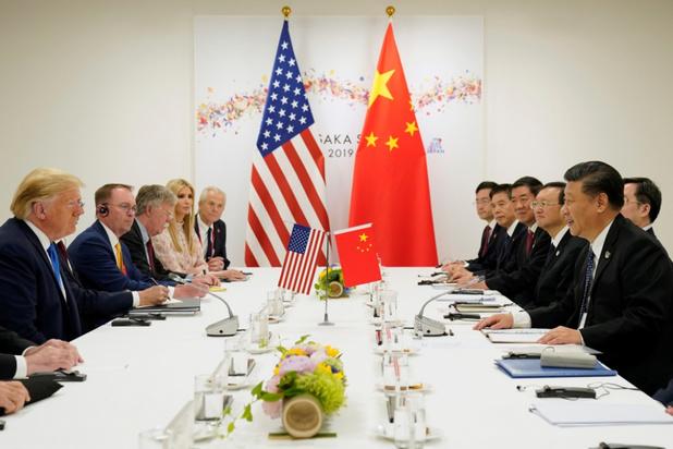 Trump: nieuwe onderhandelingsronde met China gaat nog door in september