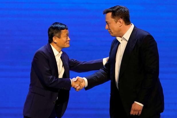 'Het lijden van Jack Ma contrasteert met de triomf van Elon Musk'