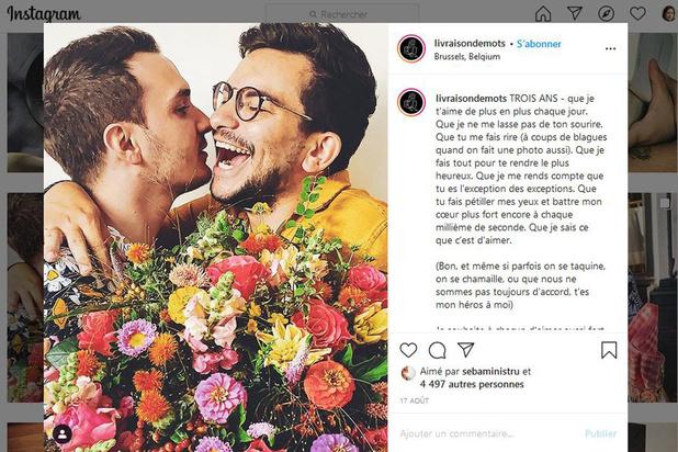 """Censure d'un couple gay sur Instagram: """"Il est étonnant que le réseau social n'ait pas encore réagi"""""""