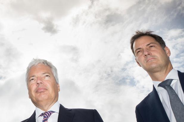De Croo et Reynders condamnent la démolition d'un projet financé par la Belgique