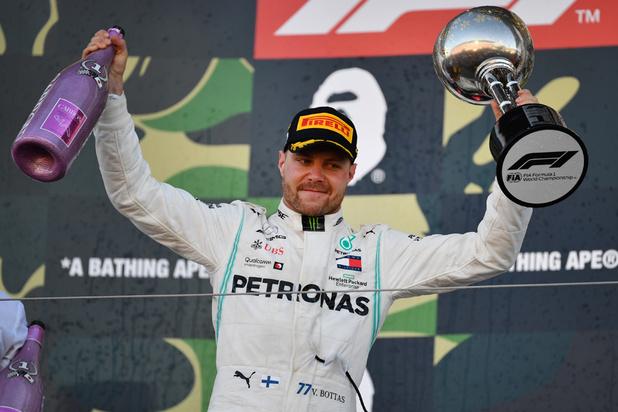 F1: Bottas remporte le Grand Prix du Japon