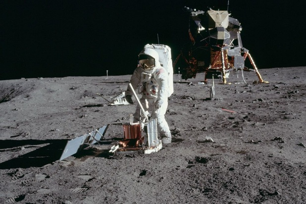Le récit des premiers pas sur la Lune: le 21 juillet 1969