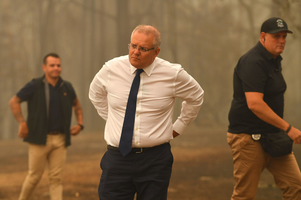 Australische premier suggereert voor het eerst mogelijke aanpassing klimaatbeleid