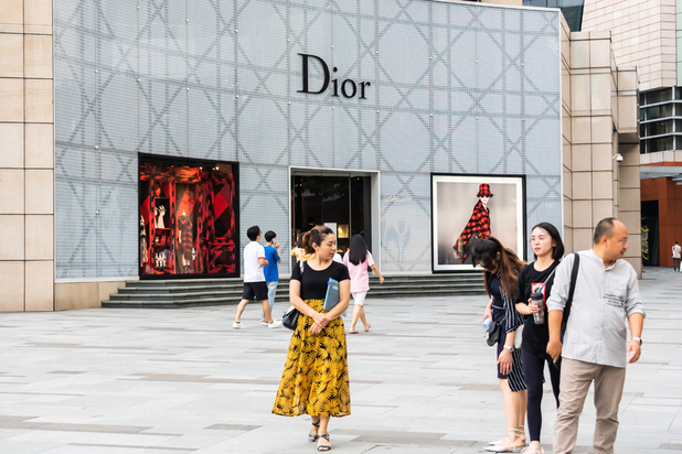 Impair diplomatique entre Dior et la Chine