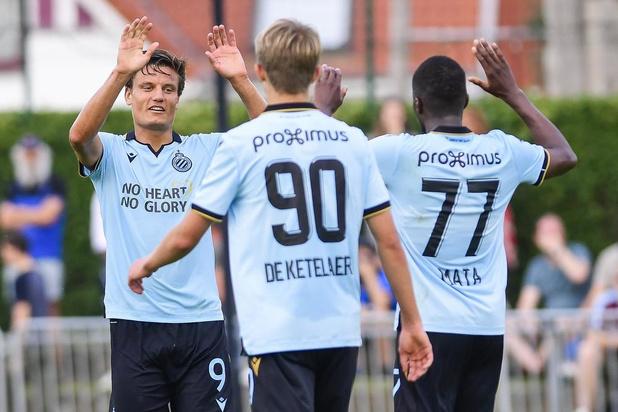 Club Brugge zwaar onderuit tegen AZ, KV Oostende verliest tegen Willem II