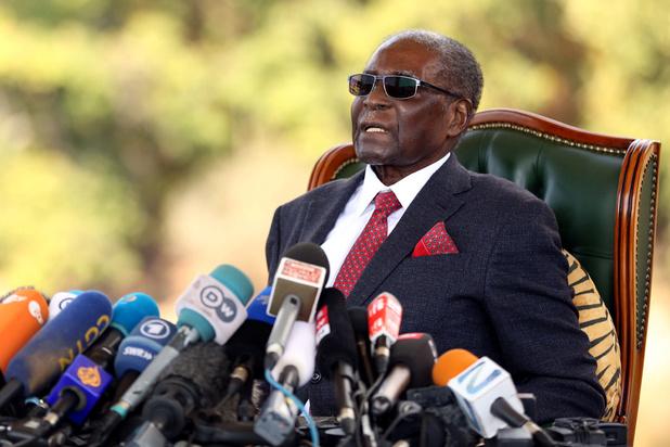 Zimbabwaanse ex-president Robert Mugabe is overleden