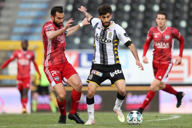 Eupen bat Charleroi (2-3) et le dépasse au classement