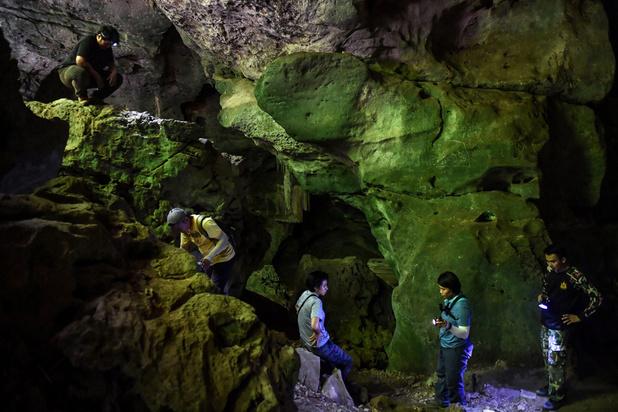 Mise au jour de peintures millénaires au coeur de la jungle thaïlandaise