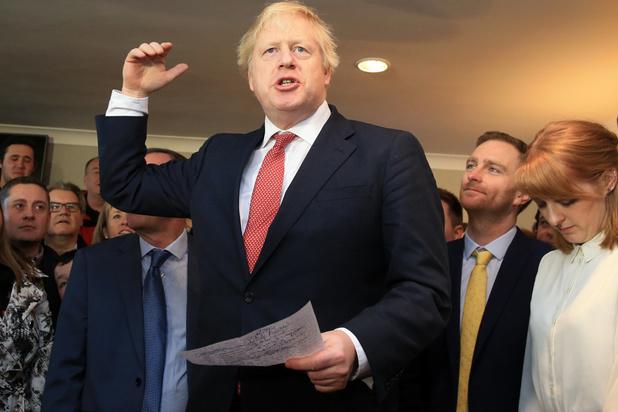 Après sa victoire, Boris Johnson met son équipe en marche en vue du Brexit
