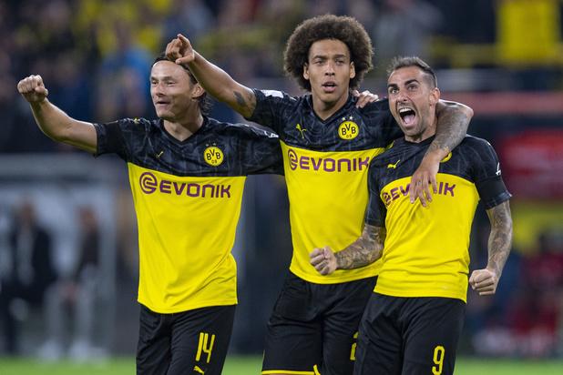 Axel Witsel mag met Dortmund Duitse Supercup de lucht insteken