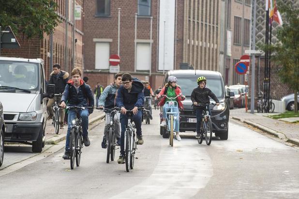 Na twee jaar fietsstraat in Roeselare is er nog werk aan de winkel