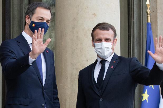 """""""Il était important que la France et la Belgique se parlent urgemment"""" (De Croo)"""