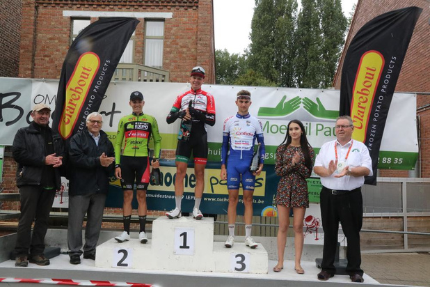Gil D'Heygere wint Heuvelland Classic