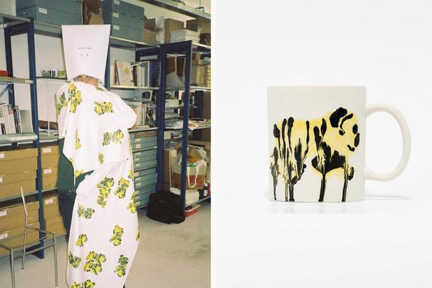 Kunstenaar Rop Van Mierlo maakt zijn eigen merchandising: 'Ik betwijfel of Van Gogh blij zou zijn met de tassen met zijn werk'