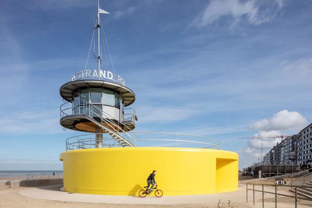 Nieuwe veiligheidspost in Knokke: 'Weinig badsteden hebben het lef om zoiets te bouwen'