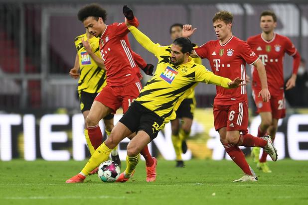 Le Bayern a battu Dortmund 4-2 et reste en tête