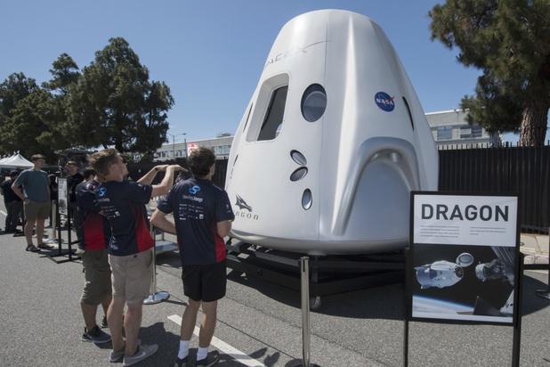 Lancering van SpaceX Dragon uitgesteld door het weer