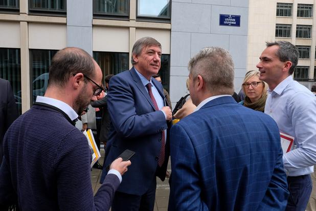 Le parlement flamand évacué à la suite d'une alerte à la bombe