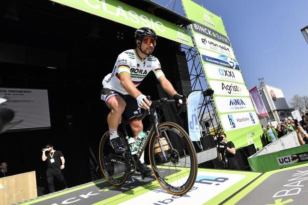 Sagan start zondag niet in Luik-Bastenaken-Luik