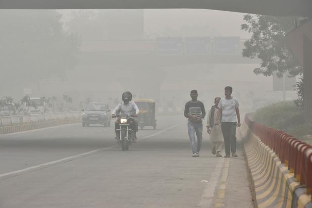 New Delhi et sa population asphyxées par la pollution